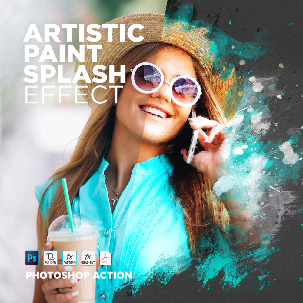 Free Photoshop Actions Artistic Paint