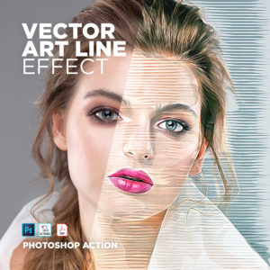 Vector Art Photo Effect